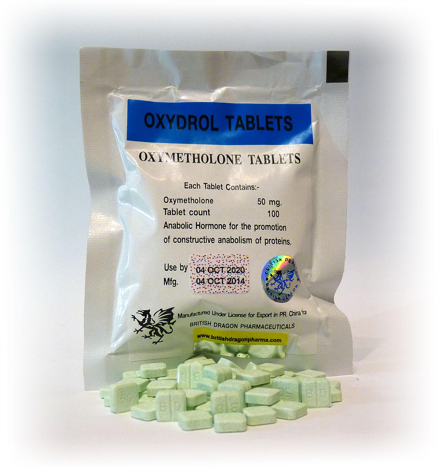 British Dragon Oxydrol Tablets