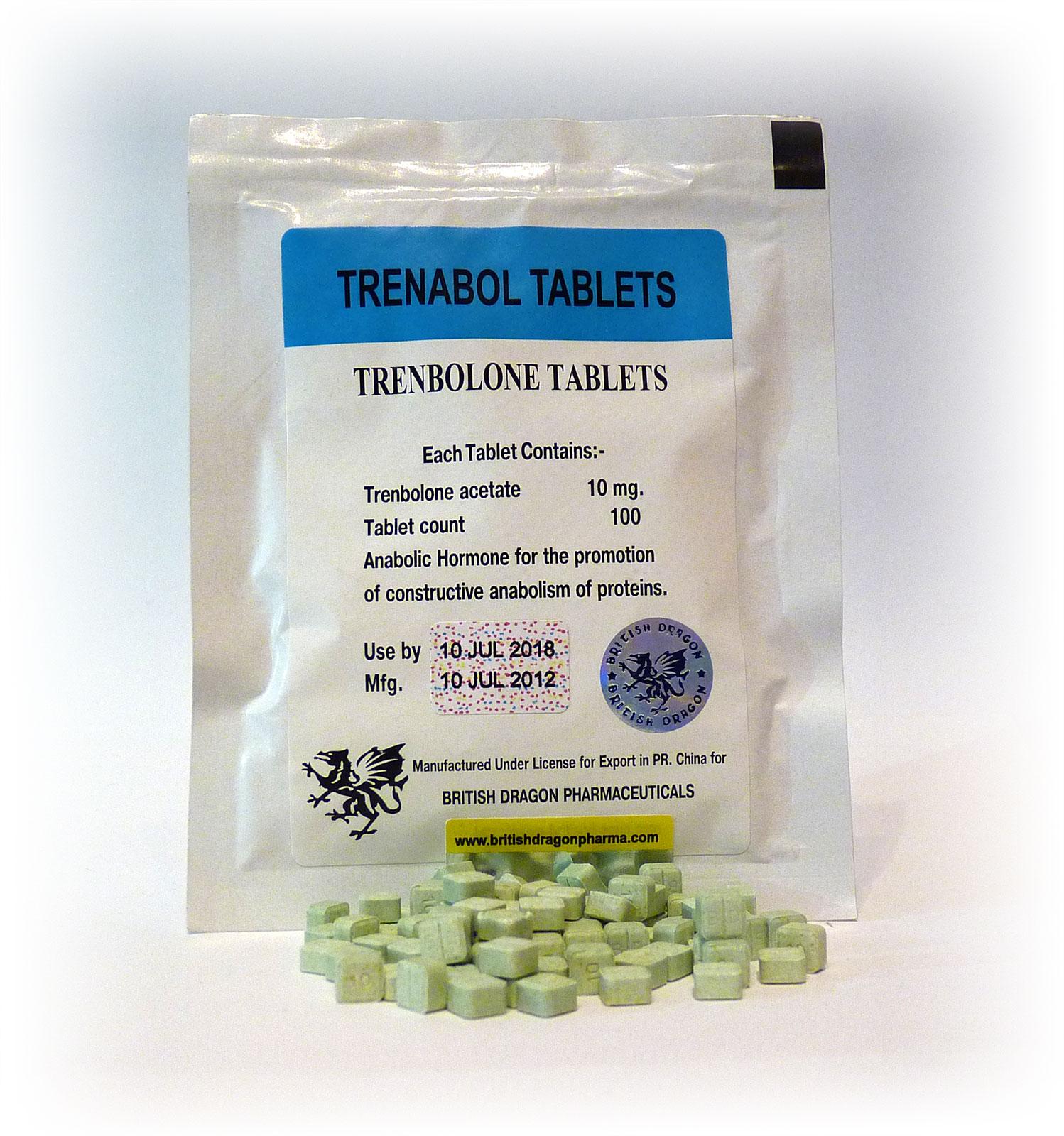 British Dragon Trenabol Tablets