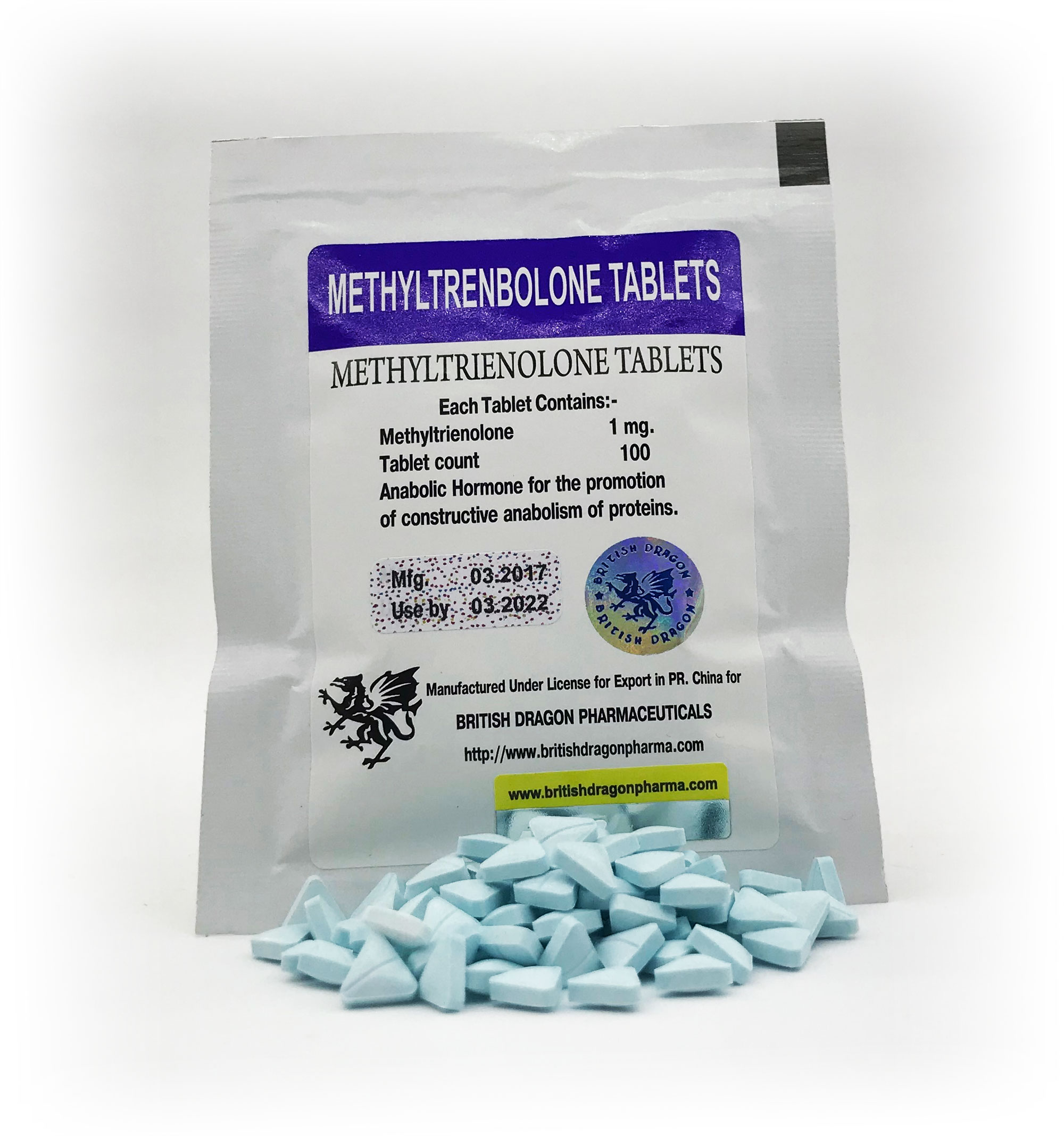 British Dragon Methyltrenbolone Tablets