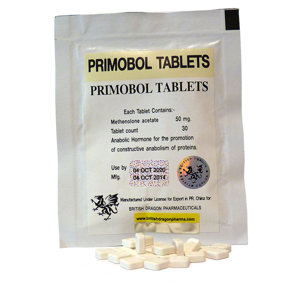British Dragon Primobol Tablets