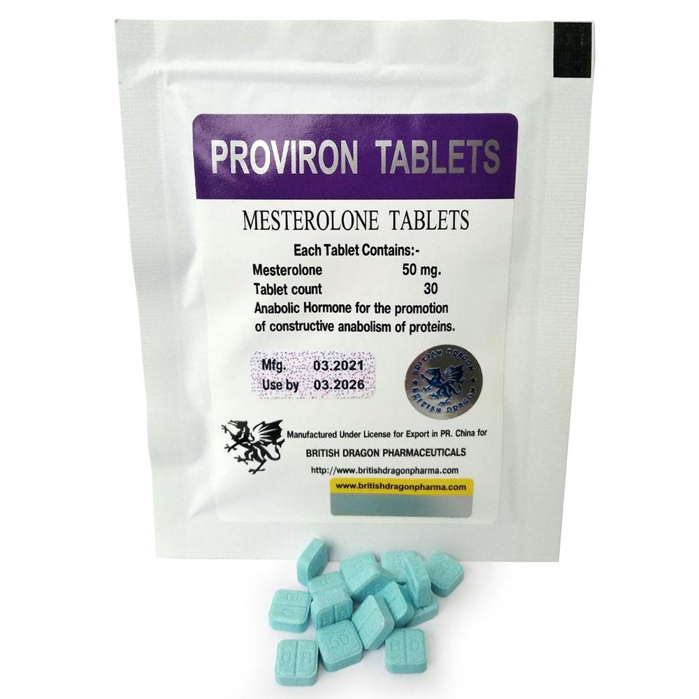 British Dragon Proviron Tablets